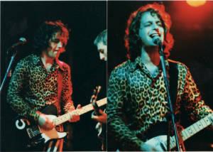 Robert at CBGB's 1995 - spots & stripes!
